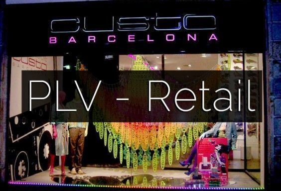 PLV RETAIL ESPOSITORES WALLCOVERING BARCELONA
