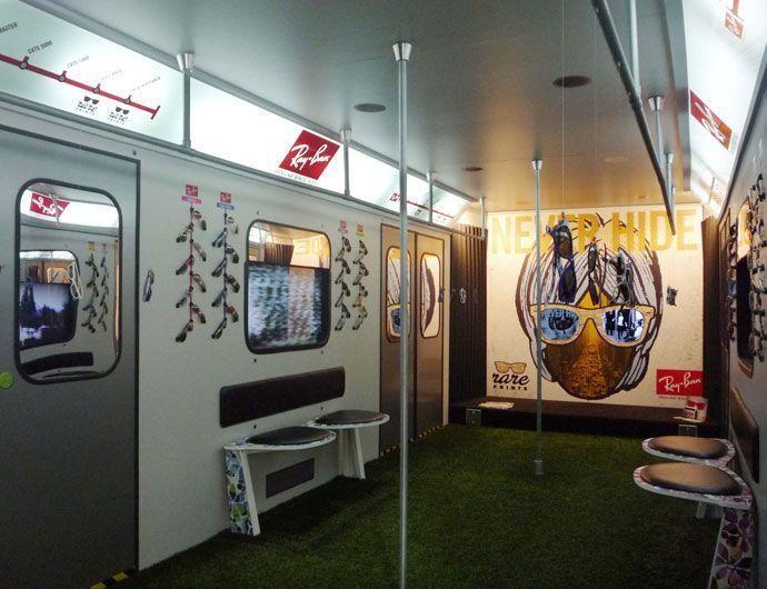 Simulación de un vagón de Metro mediante técnicas de impresión digital