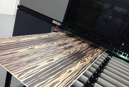 Impresión en madera Barcelona