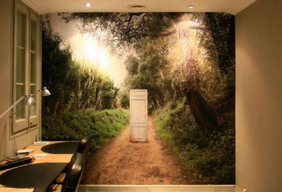Impresión digital interiorismo wallpaper