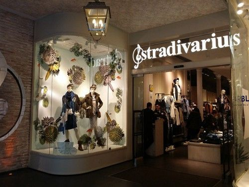 PLV Visual merchandising Escaparatismo