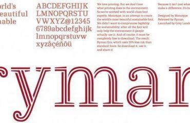 Ryman Green printing