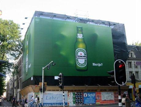 Impresión publicidad lonas fachadas en Barcelona