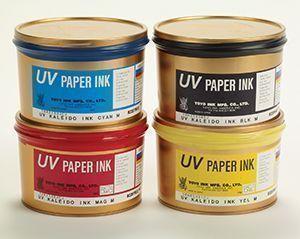 Tintas UV impresión resistente al exterior