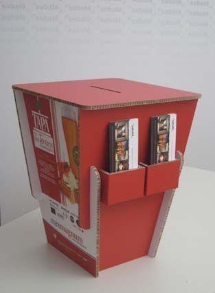 Urna y dispensador de folletos