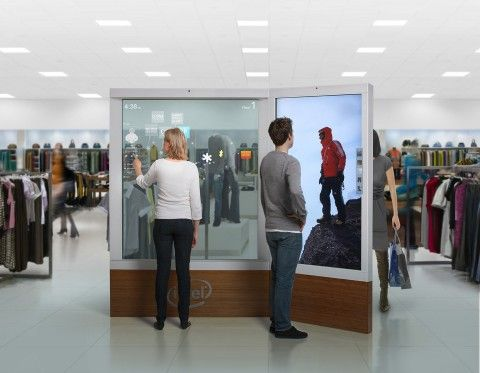 Digital signage Visual merchandising
