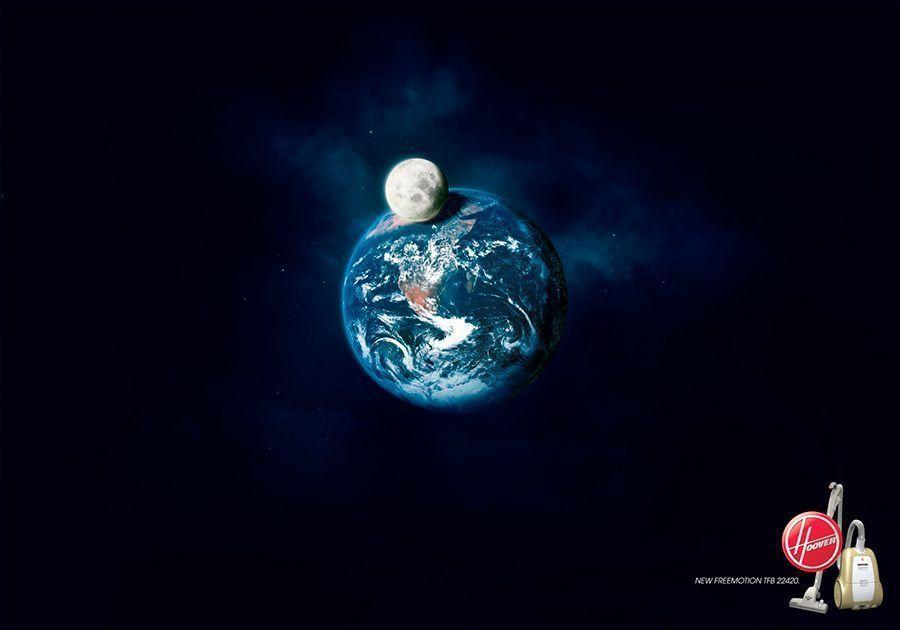 El espacio exterior Cartelería