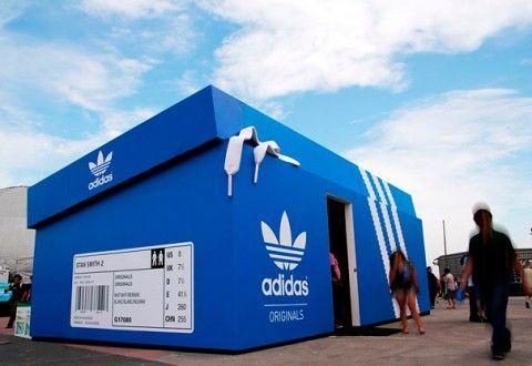 Instalaciones efímeras para retail