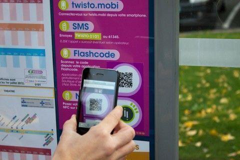 NFC QR impresión ecológica