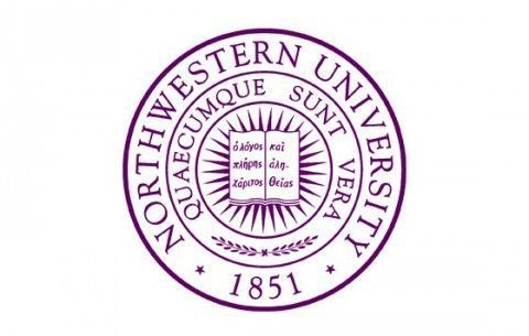 Northwestern University purple púrpura Branding
