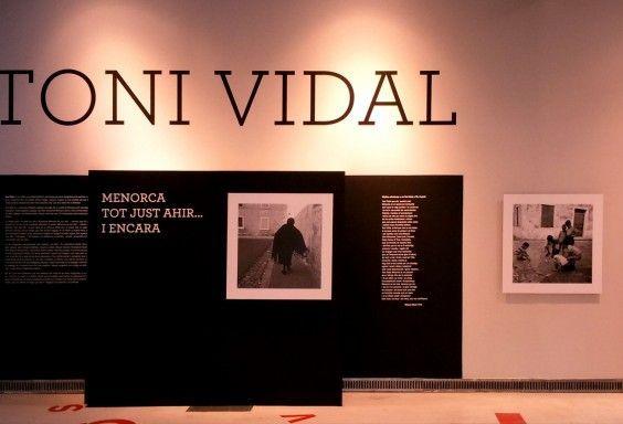 Producción gráfica para la exposición de Toni Vidal en L'Espai Betúlia