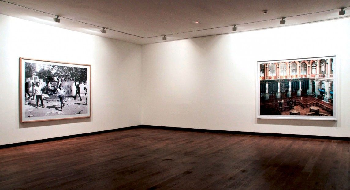 Copias fotográficas para muestra monográfica del artista