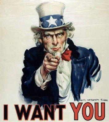 I want you EEUU Cartelería Rotulación