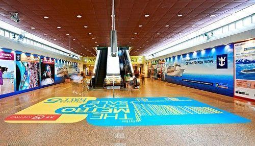 Adhesivo de suelo Floor sticker Vinilo impreso