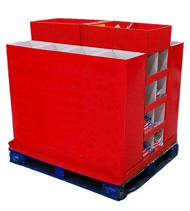 Box palets Contenedores Cubre palets PLV