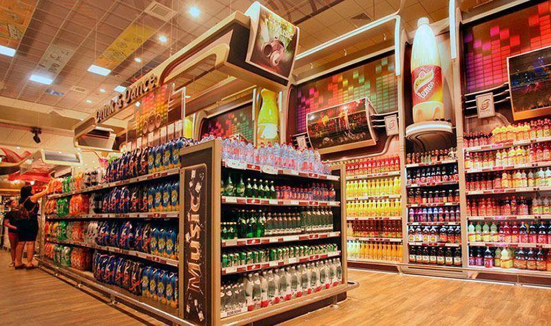 Cabeceras de góndola Stands Expositor Plv Retail