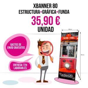 Comprar xbanner barato 85x180