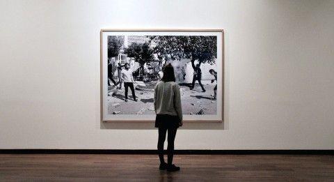 Instalación gráfica Exposición de cuadros