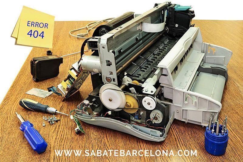 Sabaté Impresión digital Barcelona Error 404