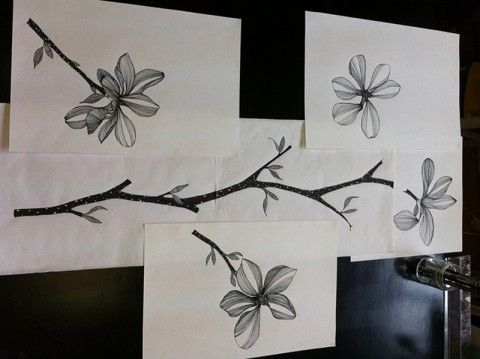 Diseño Impresión digital textil