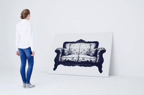 Diseño Lienzos Impresión digital textil
