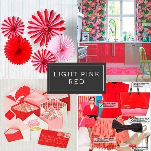 Rojo y rosa Diseño gráfico Comunicación visual