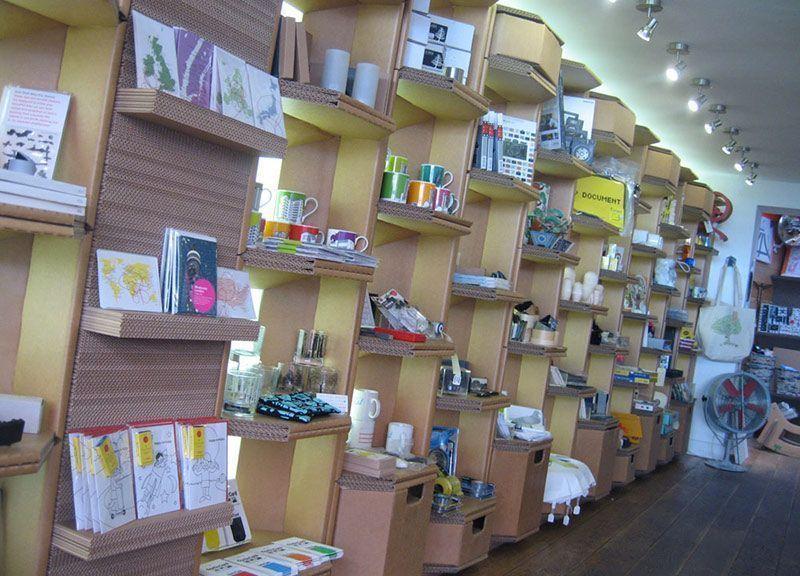 Branding Impresión cartón Retail Plv