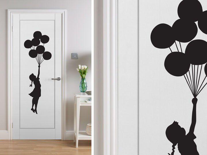 Vinilos para puertas interiorismo impresi n vinilos for Pegatinas de decoracion para dormitorios