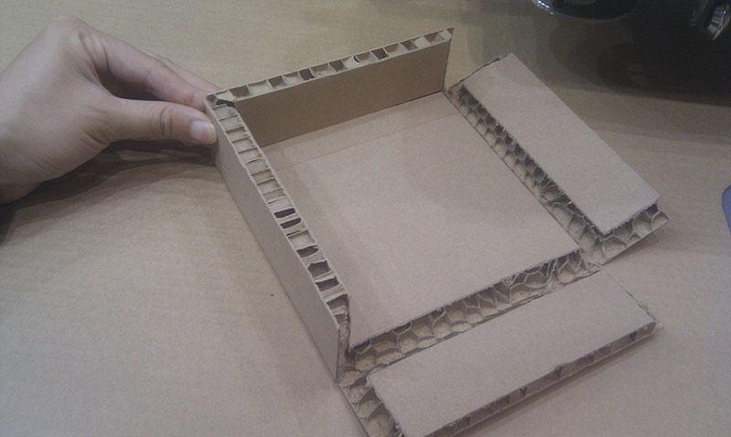 Corte digital PLV Impresión cartón nido de abeja Impresión cartón Gran formato