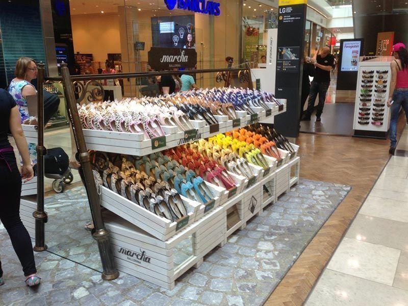 Displays Escaparatismo Retail