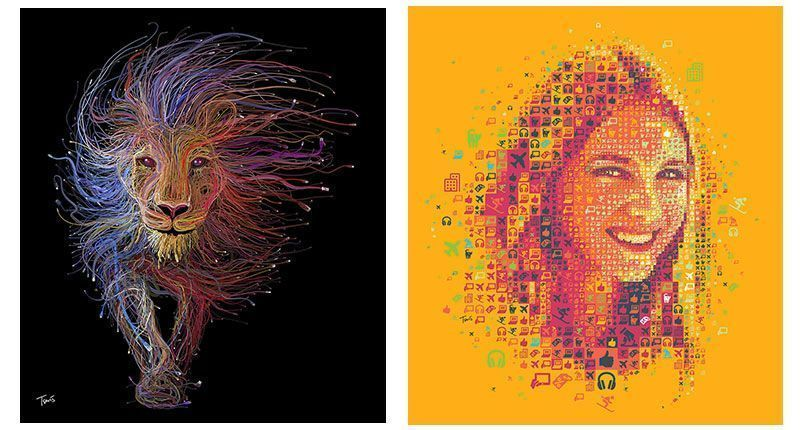 Impresión digital Comunicación visual Diseño gráfico