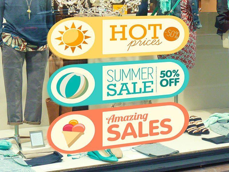Impresión publicidad Displays Retail