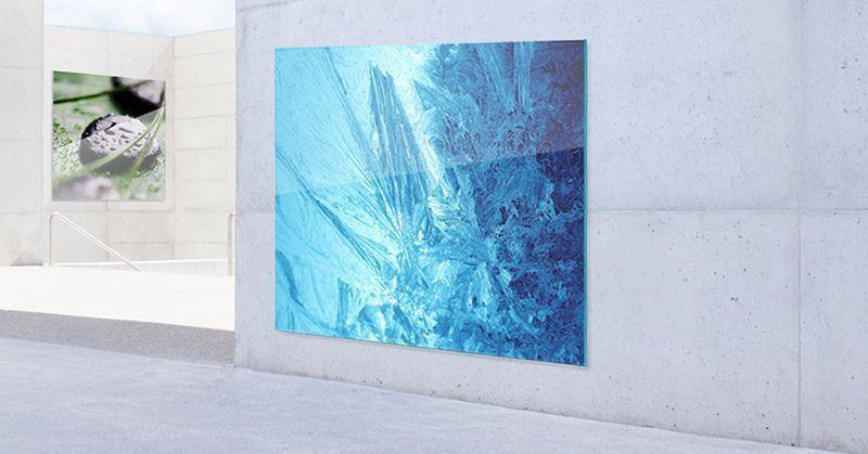 Interiorismo Impresión digital textil Publicidad Roll-up Estands