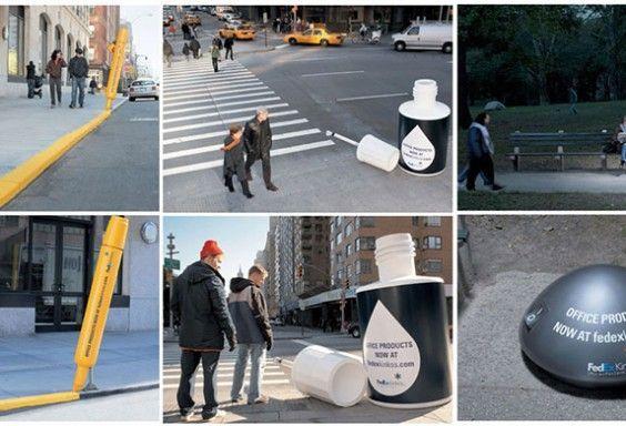Street marketing Comunicación visual Publicidad