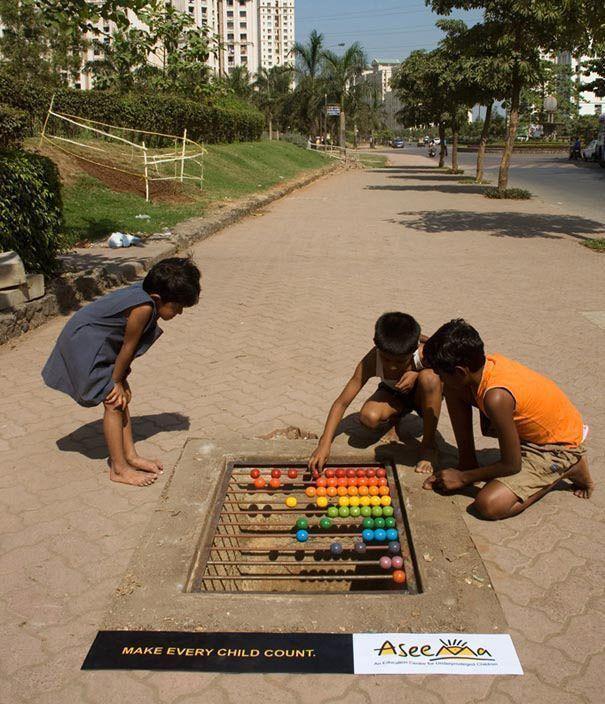 Street marketing Impresión digital