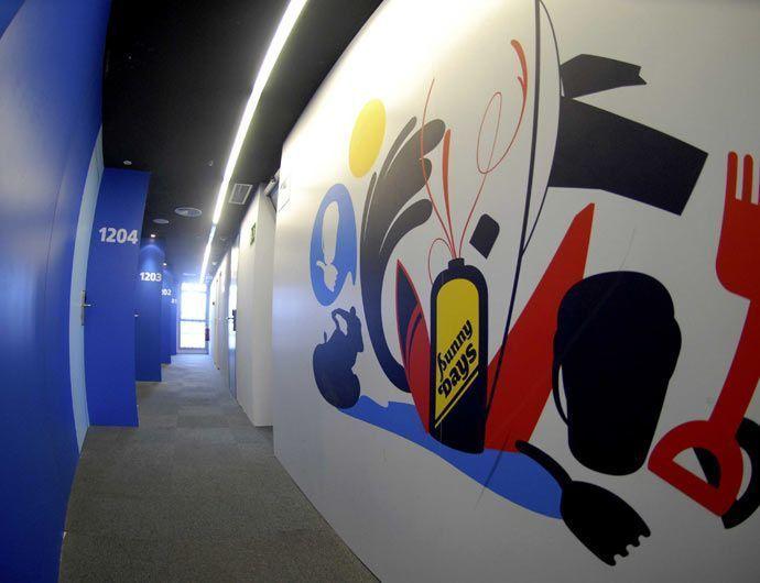 Forex impreso Wall covering Plv Soportes rígidos