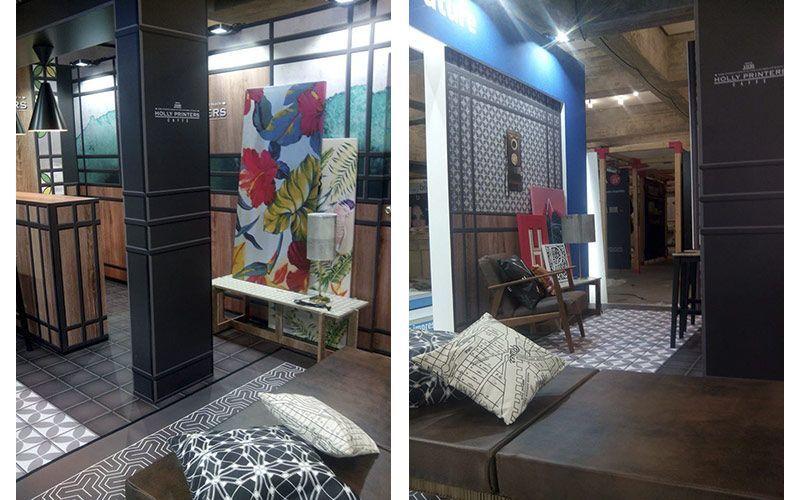Diseño interiores Estands Impresión digital
