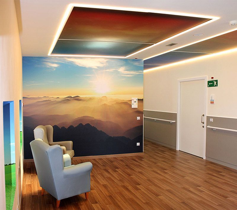 Impresión digital gran formato Interiorismo Impresión directa UV