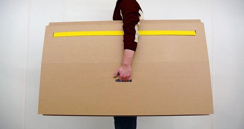 Interiorismo Cartón Re-board