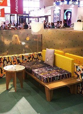 Diseño y producción de mobiliario en cartón