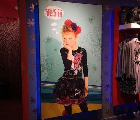 Campaña de decoración en interior de tiendas