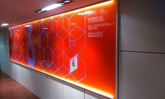 Decoración espacios comunes en edificio corporativo