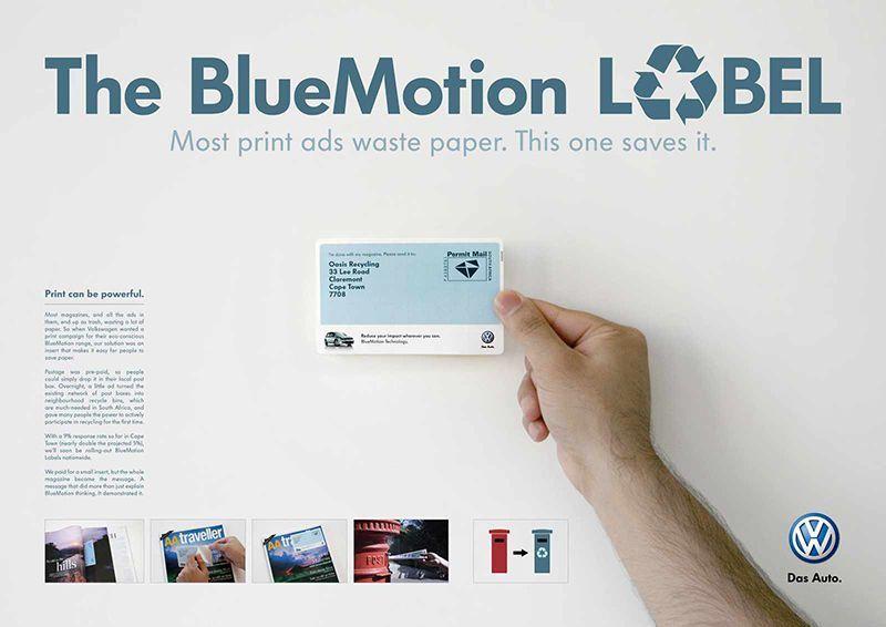 Anuncio impreso Comunicación visual Marketing