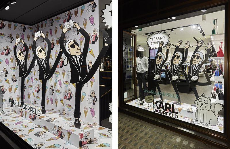 Impresión de cartón Diseño Marketing Visual Merchandising