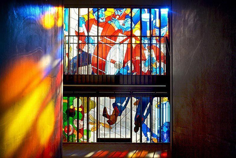 Impresión digital Impresión sobre vidrio Interiorismo