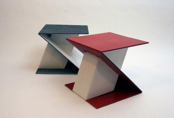 Interiorismo Mobiliario de cartón Impresión digital