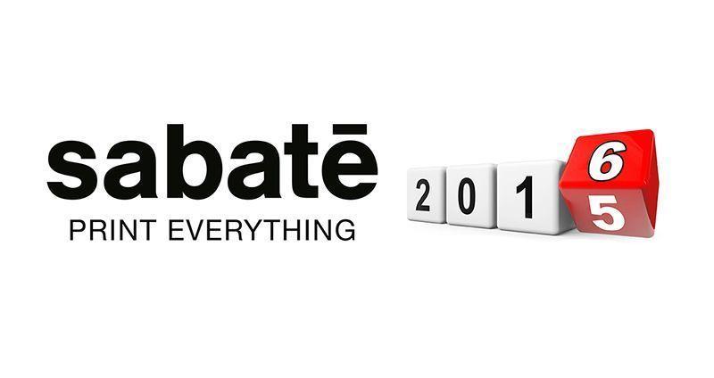 Sabaté Fin de año Impresión digital de gran formato Barcelona