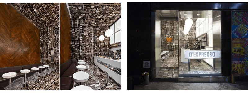 Vinilo impreso Diseño de interiores Impresión digital textil