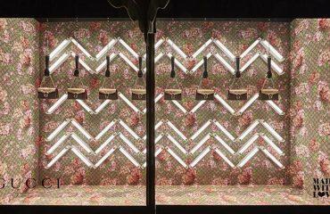 Visual merchandising Textil Impreso Escaparatismo