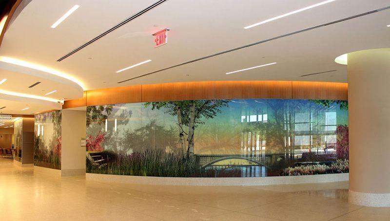 Impresión sobre vidrio Murales Diseño
